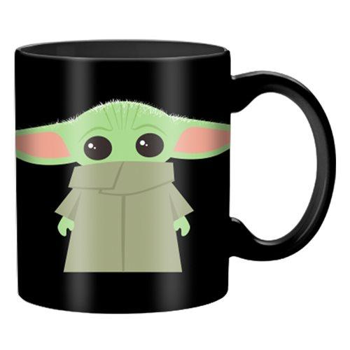 Star Wars: The Mandalorian The Child Stand Black 20 oz. Mug