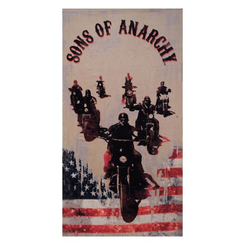 Sons of Anarchy Ride America Cotton Towel