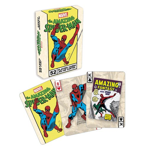 Spider-Man Playing Cards