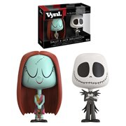 The Nightmare Before Christmas Jack and Sally Vynl. Figure 2-Pack