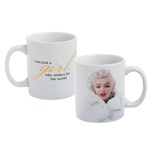 Marilyn Monroe Just a Girl 12 oz. Ceramic Mug