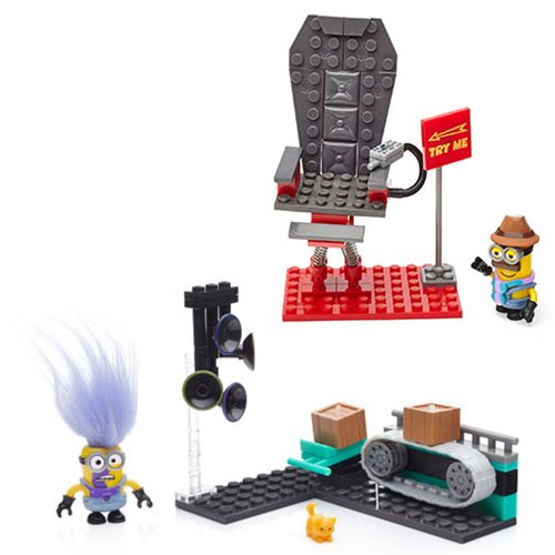 Mega Bloks Despicable Me Mini-Figure Small Playset Case