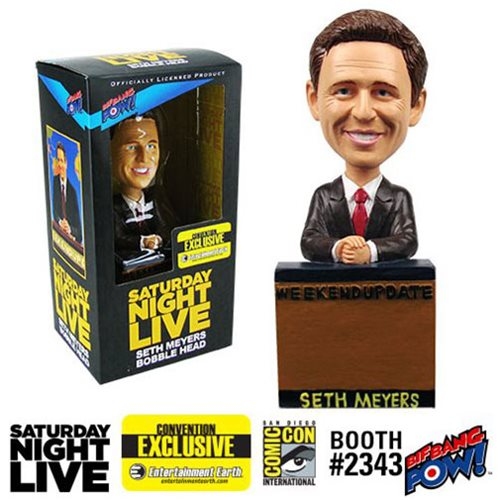 Saturday Night Live Seth Meyers Weekend Update Bobble Head - Convention Exclusive, Not Mint
