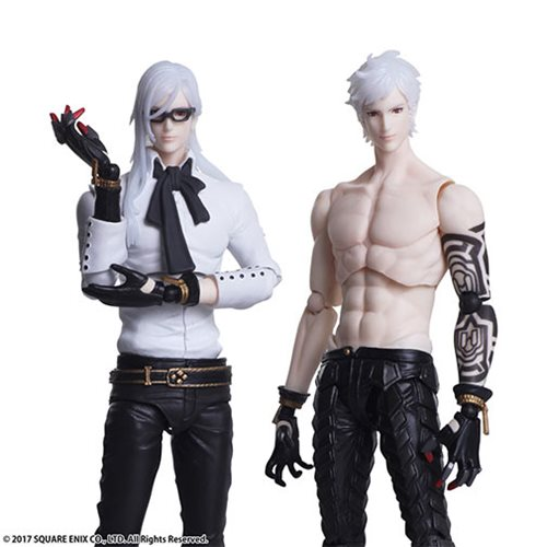 NieR: Automata Adam and Eve Bring Arts Action Figure Set