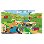 Thomas the Tank Engine Chair Rail Giant Ultra-Strippable Pre-Pasted Mural