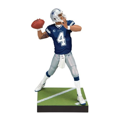 NFL Madden 19 Series 1 Dak Prescott Action Figure, Not Mint