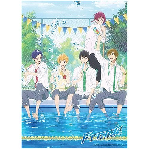 Free! Boys Cooling Off 300-Piece Puzzle