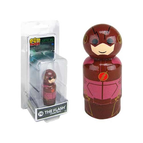 Arrow TV Series The Flash Pin Mate Wooden Figure