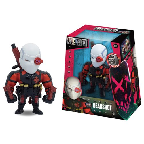 Suicide Squad Deadshot 4-Inch Metals Die-Cast Action Figure
