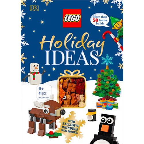 LEGO Holiday Ideas Hardcover Book