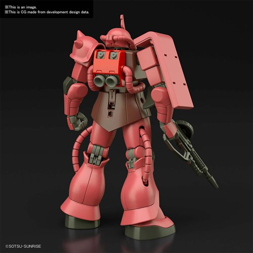 Mobile Suit Gundam #234 MS-06S Zaku II HGUC 1:144 Scale Model Kit