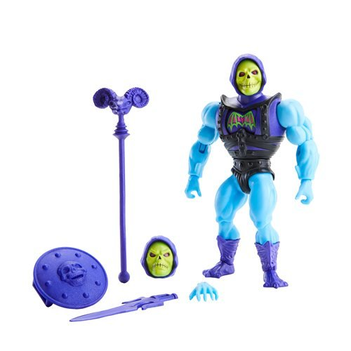 Masters of the Universe Origins Deluxe Action Figure Wave 1 Case