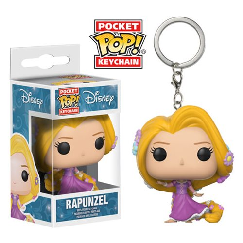 Tangled Rapunzel Pocket Pop! Key Chain