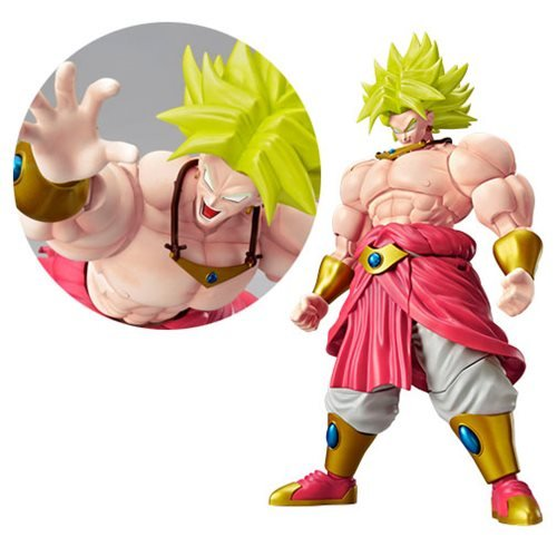 Figure-Rise Standard Legendary Super Saiyan Broly 7-Inch Model Kit Figure