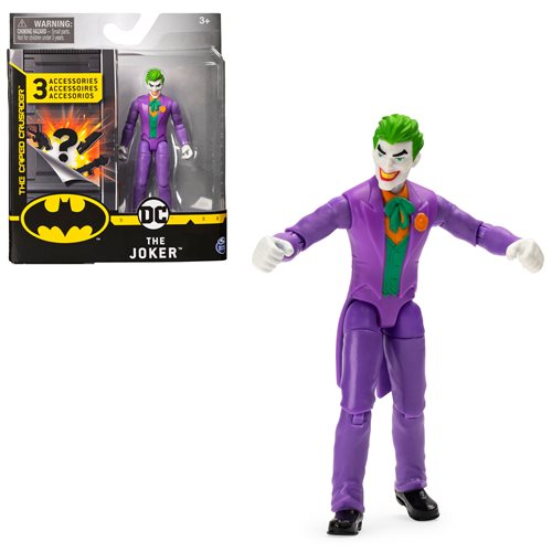 Batman Joker 4-Inch Action Figure