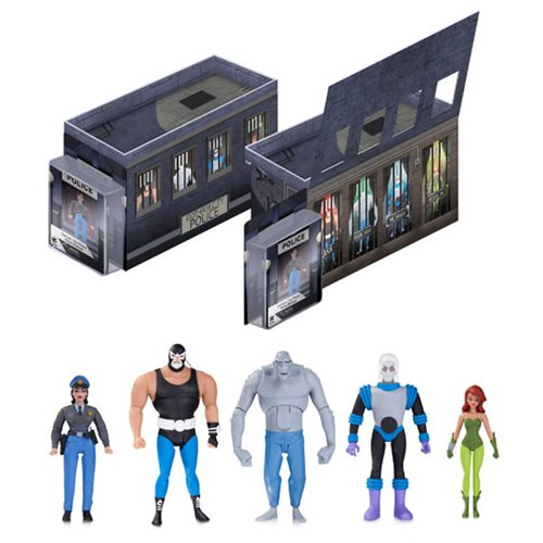 Batman: The Animated Series Light-Up GCPD Rogues Gallery Action Figure 5-Pack