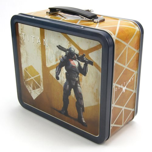 Destiny Guardian Titan Tin Tote Lunch Box