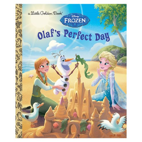 Frozen Olaf's Perfect Day Little Golden Book