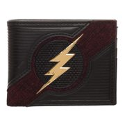 The Flash Chrome Weld Patch Bi-Fold Wallet