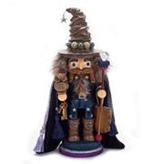 Hollywood Brown Wizard 15-Inch Wooden Nutcracker