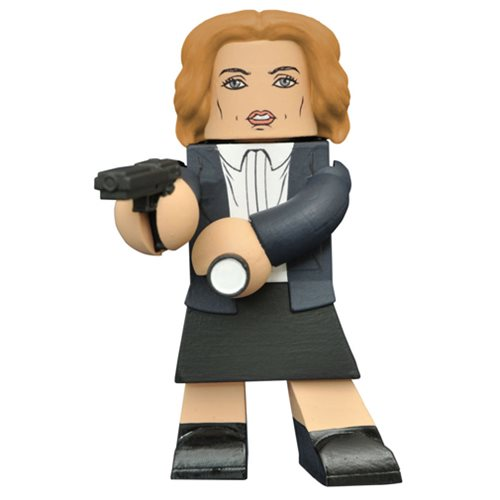 X-Files 2016 Dana Scully Vinimate Vinyl Figure, Not Mint