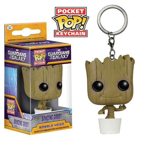 Guardians of the Galaxy Baby Groot Pocket Pop! Vinyl Figure Key Chain