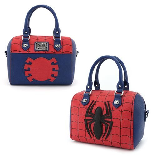 Spider-Man Red-and-Blue Duffle Purse