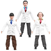 Three Stooges Fueling Around 8-Inch Action Figure Set