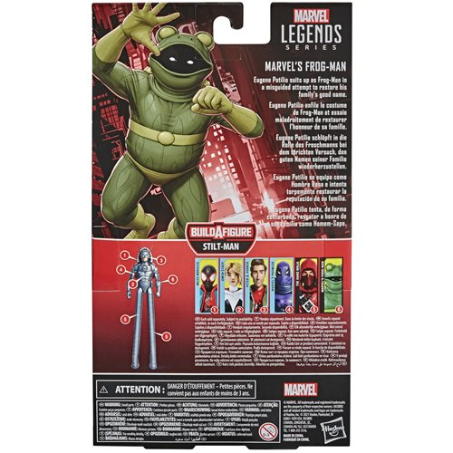 Spider-Man Marvel Legends 6-Inch Frog-Man Action Figure