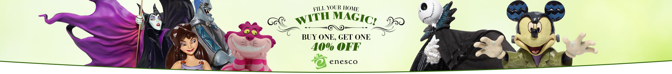 Enesco Buy One Get One 40% Off