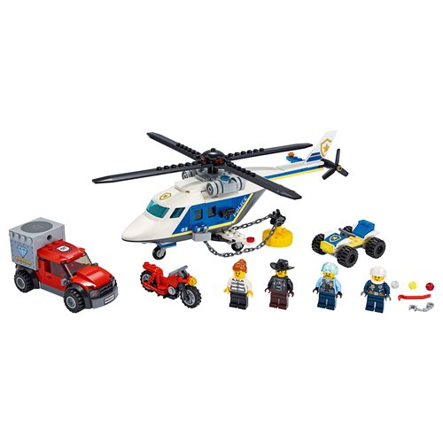 LEGO 60243 City Police Helicopter Chase