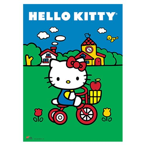 Hello Kitty Classic Hello Kitty Wall Scroll