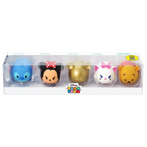 Disney Tsum Tsum 3D Figural Key Chain 5-Pack Set - San Diego Comic-Con 2016 Exclusive
