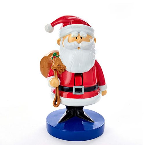 Rudolph the Red-Nosed Reindeer Santa 8 1/2-Inch Nutcracker