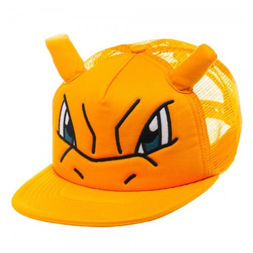 Pokemon Charizard Big Face Trucker Hat