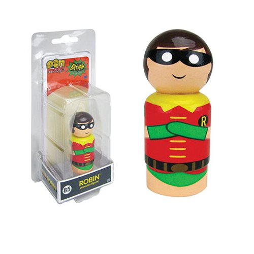 Batman TV Series Robin Pin Mate Wooden Figure
