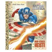 Marvel Captain America High-Stakes Heist Little Golden Book