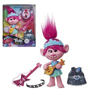 Trolls World Tour Pop-to-Rock Poppy Singing Doll