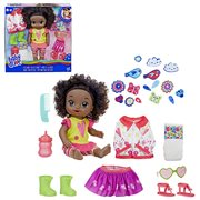 Baby Alive So Many Styles Baby Doll - Black Curly Hair