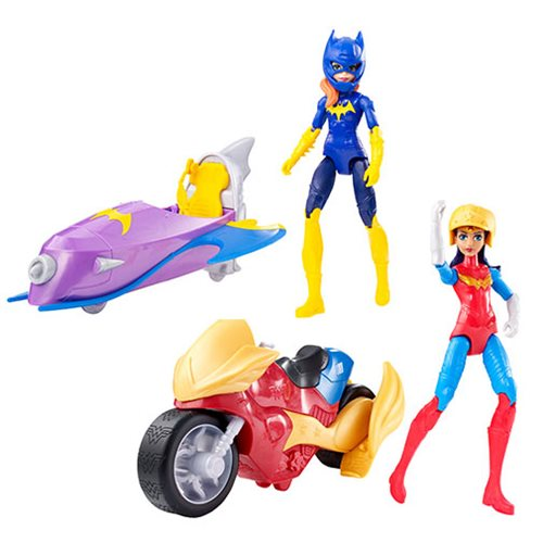DC Super Hero Girls Action Figure with Vehicle Case