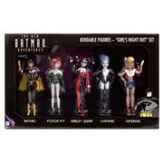 Batman: The New Batman Adventures Girls Night Out Bendable Action Figure Boxed Set