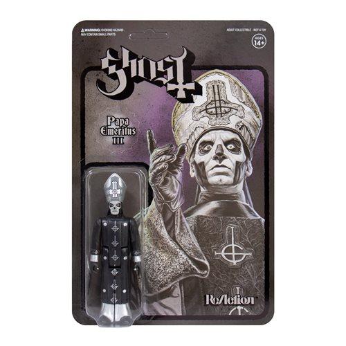 Super7 Ghost ReAction Figure Papa Emeritus III 3 3//4-Inch Action Figure PreOrder