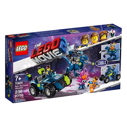 LEGO 70826 The LEGO Movie 2: The Second Part Rex's Rex-treme Offroader!