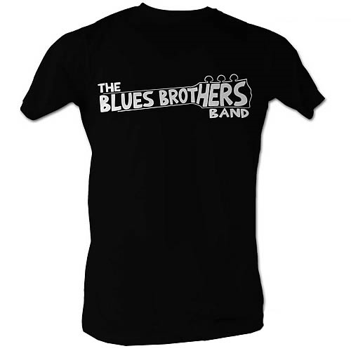 Blues Brothers Band Black T-Shirt