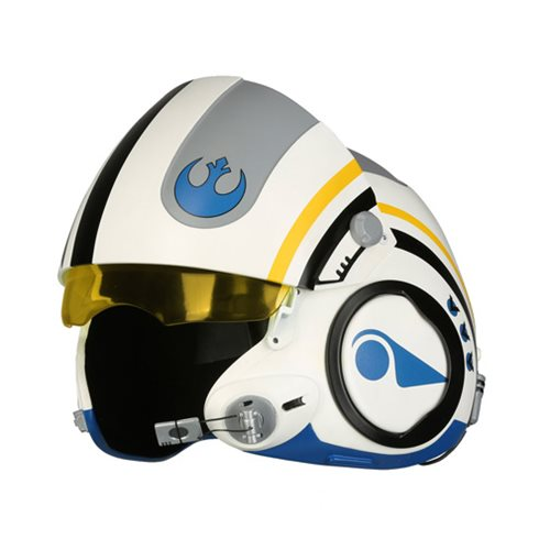 Star Wars: The Force Awakens Poe Dameron Blue Squadron Helmet Prop Replica