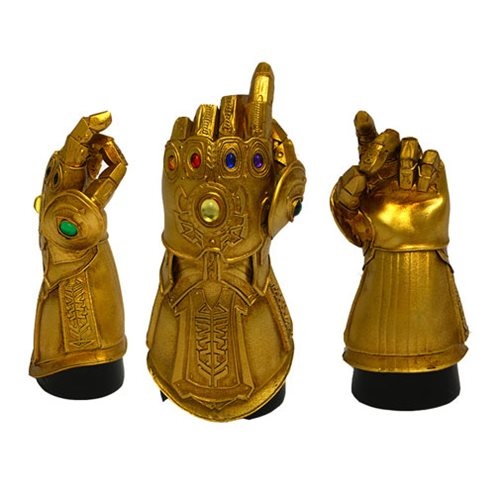 Marvel Infinity Gauntlet Snap Desk Monument Statue - San Diego Comic-Con 2019 Exclusive