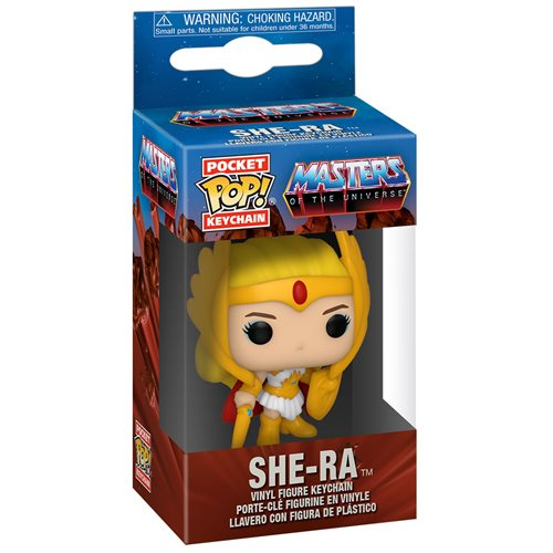 Masters of the Universe Classic She-Ra Pocket Pop! Key Chain
