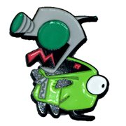 Invader Zim Happy Gir Lapel Pin