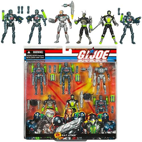 G.I. Joe Cobra BAT Attack Action Figure Set
