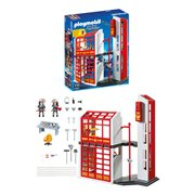 Playmobil 5361 Fire Station with Alarm